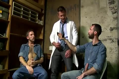 two Fit daddy boyz Greek Gods In Rehab Doing The fascinating Doctor After Therapy