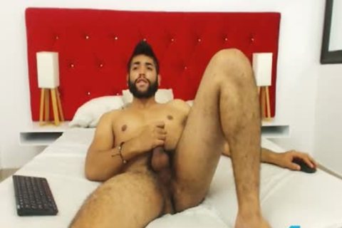 Ecio Murphy Flirt4Free - hairy chap Fingers His ass And Cums