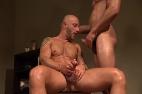Hung darksome lad butthole bangs