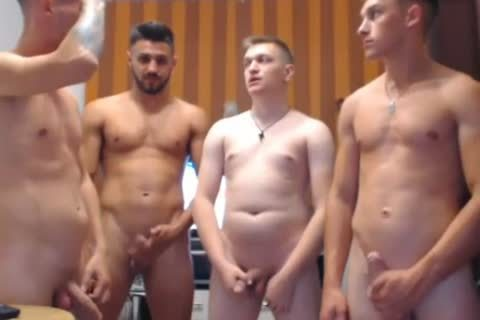4 sleazy Romanian boyz, Hard ramrods & delicious booties