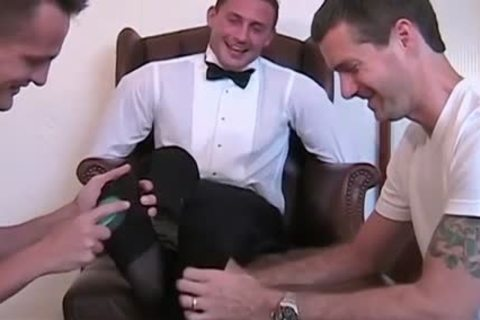 Newly Married Davis gets fastened Down To The Chair And Tickled