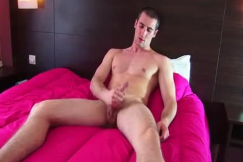 Full clip scene: A innocent straight Roomservice lad Serviced His large cock By A lad!