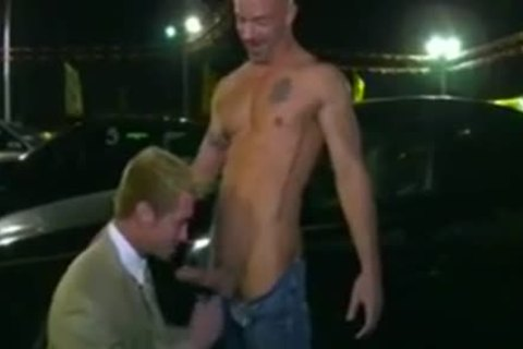 Car Salesman drilled On Lot