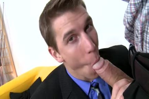 massive penis Daddy Casting And Facial