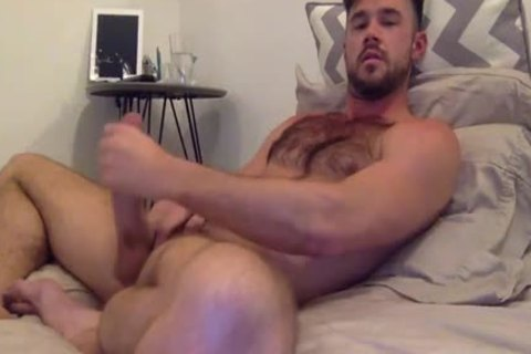 Mike De Marco Jerks Off For web camera