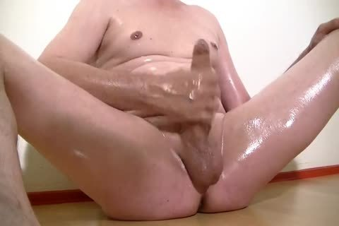 Oiled Masturbation