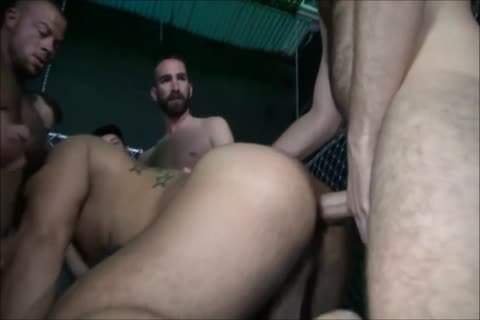 raw - The gigantic gang group-sex - I