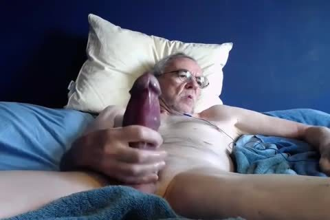 grandad jack off On webcam