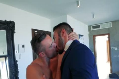 Muscle homo anal sex With ejaculation