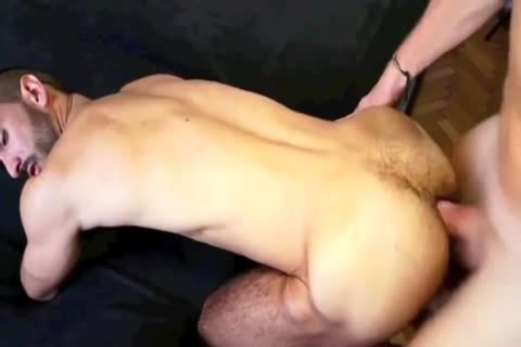 big ramrod Daddy & hirsute a-hole Fucker