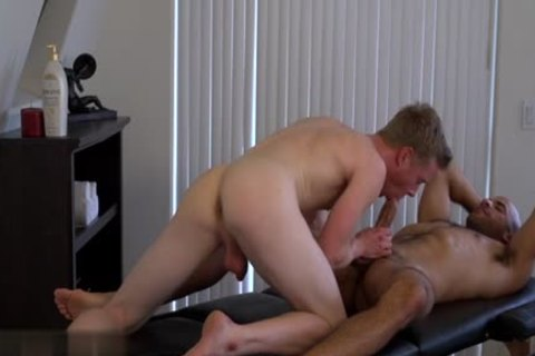 large penis homo booty pound And Massage