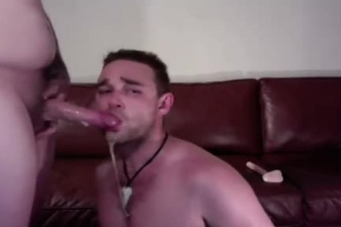 Sloppy blowjob stimulation On web camera