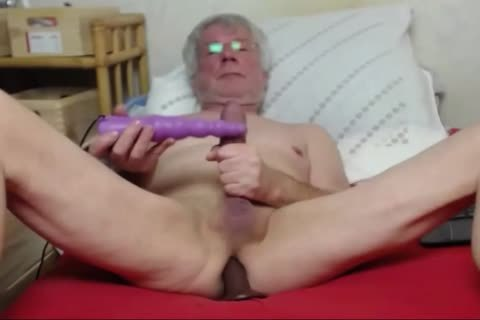 grand-dad wank On web camera