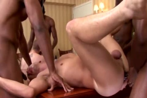 Bruthas gang bunch-sex White twink