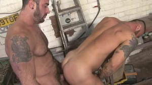 Late For Work - Spencer Reed, Alex Marte butt Nail
