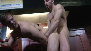 Cruising movie scene 4 - Gabriel Clark and Leo Domenico butthole sex