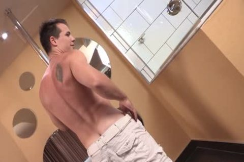 Ricky - undress, Bedstroke And Shower