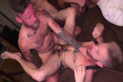 Greedy Bottom Takes Three penises
