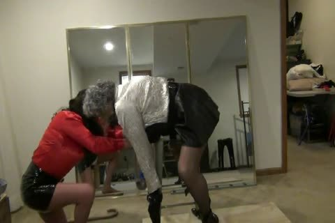 Bent-Over, fastened, Gagged, And plowed By StephanieLorain