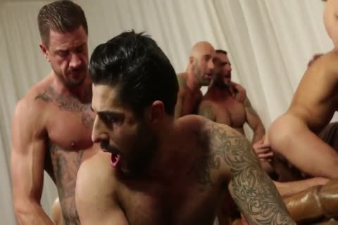 bunch orgy - Rocco Steele