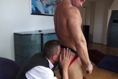 Sascha Zalman, throbbing Muscle Worship And plowing