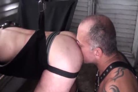 bare Leather Sling Bears With Jay Ricci And Bruce Bacch