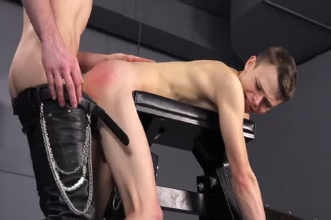 Daddy Punishes His chap