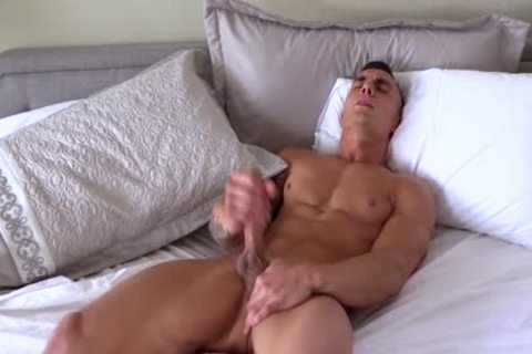 Different boyz With large penises Jerking-off