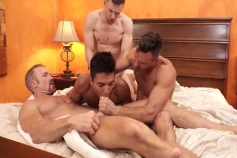 homosexual Shoplifter 3some irrumation-stimulation In Backroom