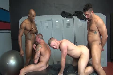 bare Locker Room fuckfest