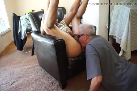 old man sucking And anal pounding Younger